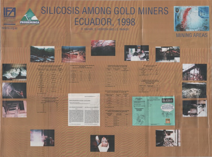 Silicosis among gold miners in Ecuador